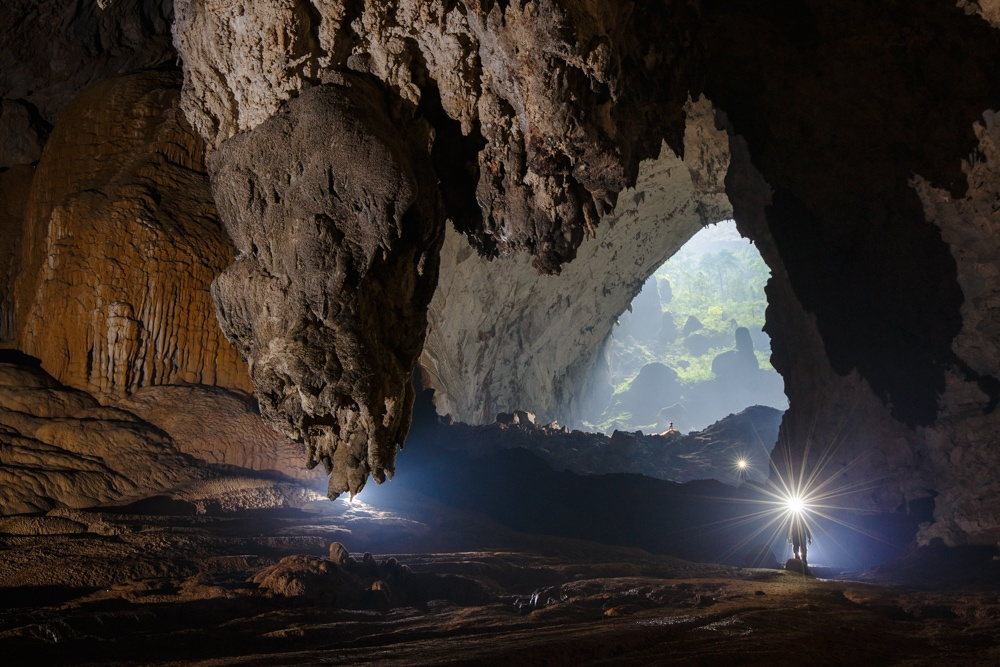 Spectacular Pictures Of Son Doong Cave News Vietnamnet