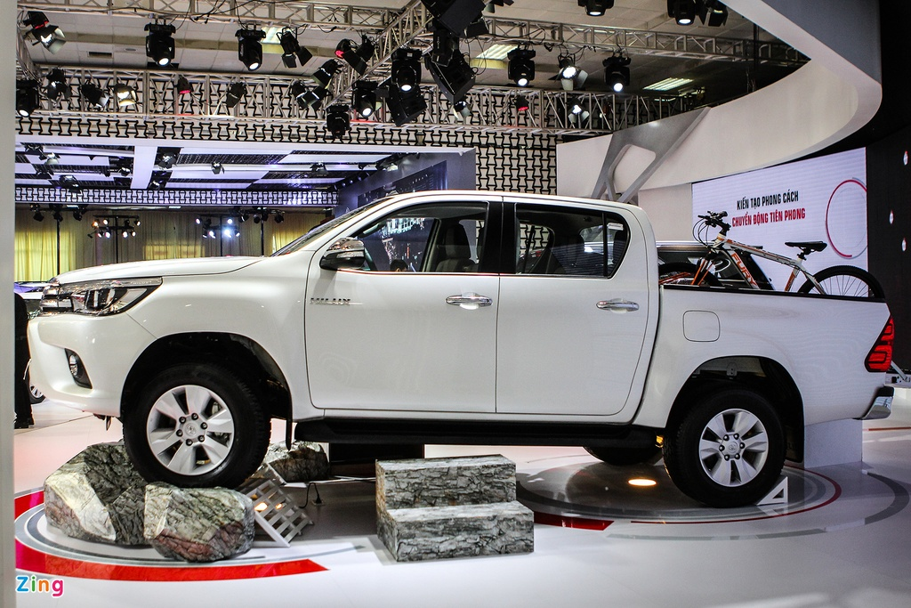 Toyota Hilux 2016 dung dong co moi tai Viet Nam hinh anh 1