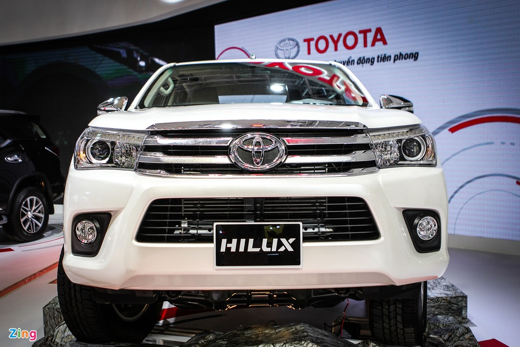 Toyota Hilux 2016 dung dong co moi tai Viet Nam hinh anh 3