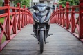 Exciter 150 Matte Black cung co vi the 'Vua duong pho' hinh anh