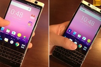 BlackBerry Mercury dung ban phim QWERTY lo anh thuc te hinh anh