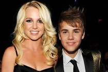 Justin Bieber xuat hien trong album cua Britney Spears? hinh anh