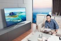 Samsung ung dung cong nghe Quantum Dot tren TV hinh anh