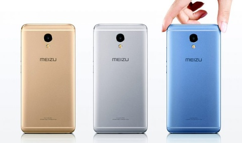 Meizu M5 Note: Smartphone RAM 3 GB gia 130 USD hinh anh