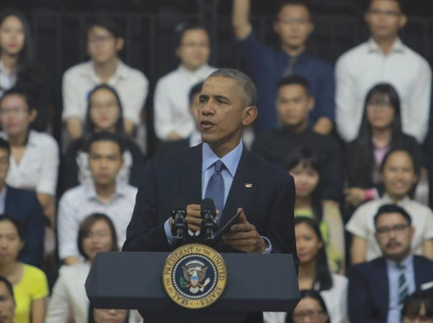 Video Tong thong Obama gap cac ban tre YSEALI hinh anh