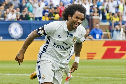 Marcelo toa sang, Real ha Chelsea tren dat My hinh anh