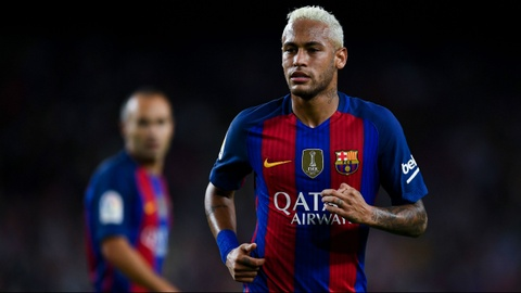 Neymar chinh thuc ky hop dong dat gia voi Barca hinh anh