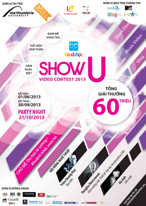 The hien tai nang voi 'Show U Video Contest' hinh anh