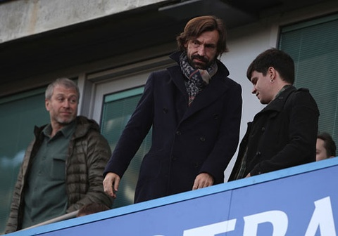 Chelsea vs West Brom (0-0, HT): Pirlo, Lampard co vu Chelsea hinh anh