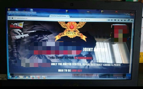 Website Vietnam Airlines bi hack, lo thong tin khach hang hinh anh