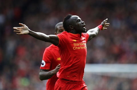 Liverpool vs West Brom (2-0, H1): Mane, Coutinho lap cong hinh anh