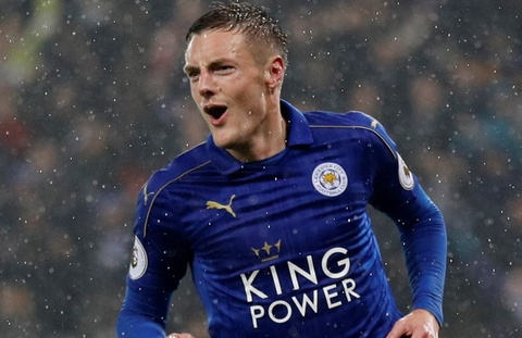 Vardy lap hat-trick, Leicester de bep Man City 4-2 hinh anh