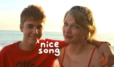 Taylor Swift thich thu khi Justin Bieber cover hit cua minh hinh anh