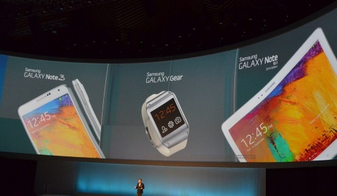 Toan canh le ra mat Galaxy Note 3, Note 10.1 va Galaxy Gear hinh anh