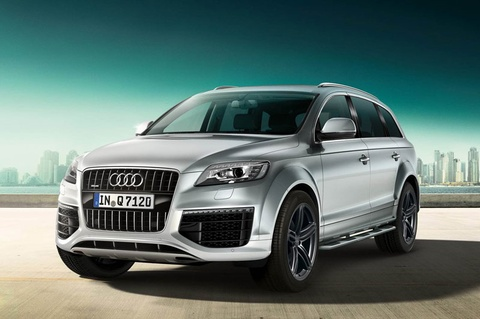 Audi trinh lang phien ban Q7 S-Line Sport Edition 2014 hinh anh