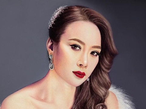 Nam sinh 16 tuoi ve chan dung sao Viet song dong nhu that hinh anh
