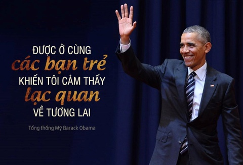 Thong diep Tong thong Obama muon gui the he tre Viet Nam hinh anh