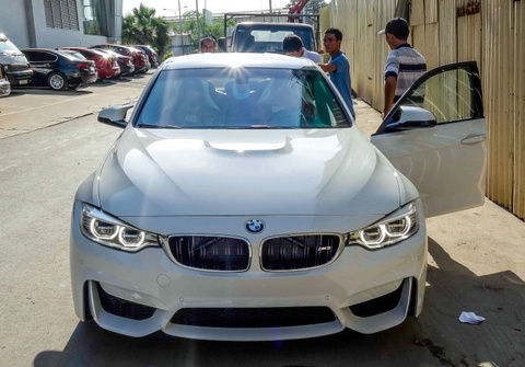 BMW M3 the he moi ve Viet Nam hinh anh
