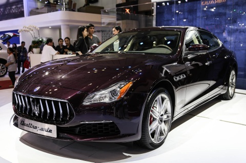Maserati Quattroporte 2017 gia tu 6,1 ty o Viet Nam hinh anh