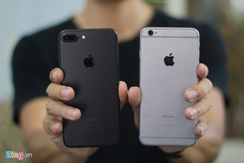 iPhone, iPad chinh hang giam gia don iPhone 7 hinh anh