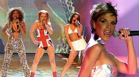 Victoria Beckham bi cam hat khi con trong Spice Girls hinh anh