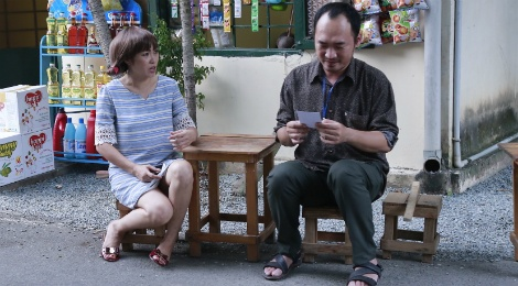 Phuong Thanh dong cap voi Tien Luat trong phim sitcom moi hinh anh