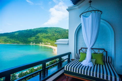 InterContinental Da Nang lot top resort sang trong cua CNN hinh anh