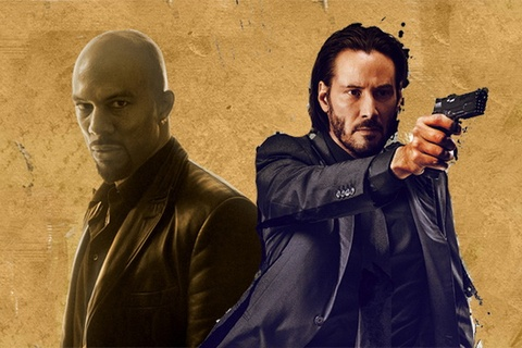 Rapper Common tro thanh doi thu cua Keanu Reeves hinh anh