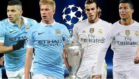 Video truc tiep bong da Real Madrid vs Manchester City hinh anh