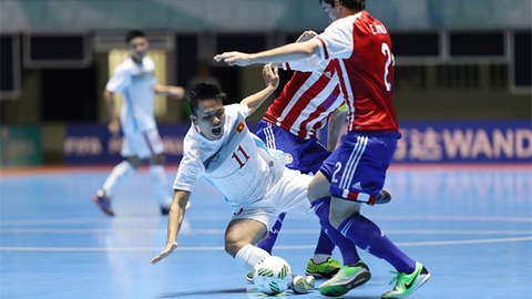 Highlights World Cup futsal: Paraguay 7-1 Viet Nam hinh anh