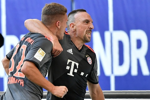 Highlights Hamburger SV 0-1 Bayern Munich hinh anh