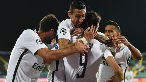 Highlights Ludogorets Razgrad 1-3 Paris Saint Germain hinh anh