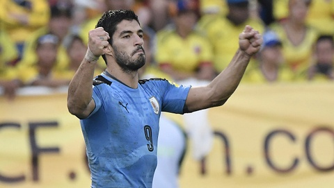 Highlights Colombia 2-2 Uruguay hinh anh