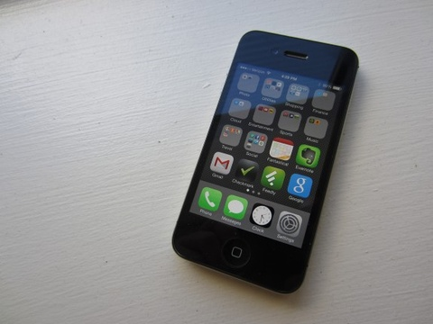 iPhone 4S ban 8GB the he moi ve Viet Nam hinh anh