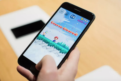 Super Mario Run sap co tren iOS, can Internet manh de choi hinh anh