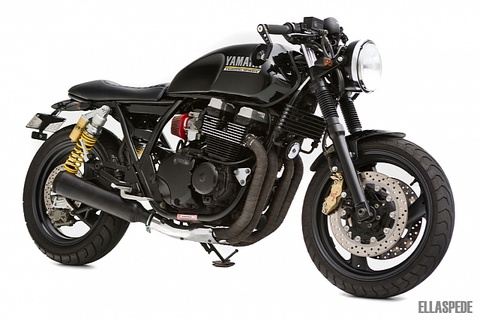 Yamaha XJR400 - Xe do dam chat Retro hinh anh
