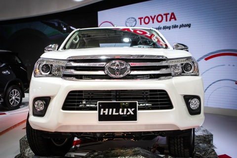 Toyota Hilux 2016 dung dong co moi tai Viet Nam hinh anh