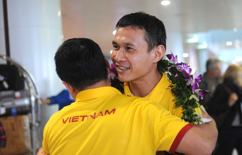 Futsal Viet Nam duoc thuong 1,5 ty dong khi ve nuoc hinh anh