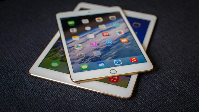 iPad mini 4 mỏng 6 mm, camera 8 megapixel