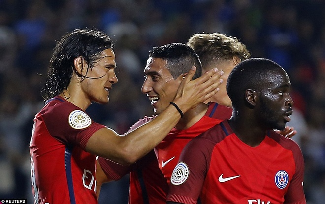 Highlights PSG 4-0 Leicester