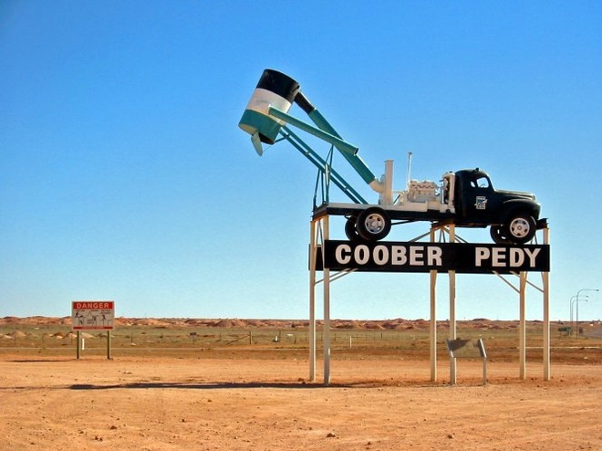 The gioi ngam la lam Coober Pedy hinh anh 1