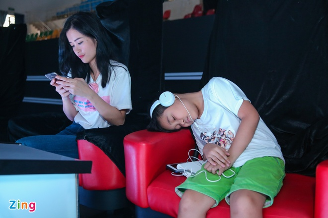 Thi sinh The Voice Kids met moi tap luyen cho dem chung ket hinh anh 1