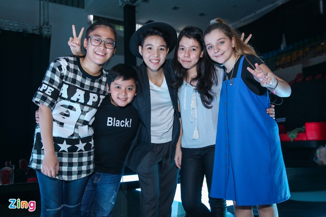 Thi sinh The Voice Kids met moi tap luyen cho dem chung ket hinh anh 7