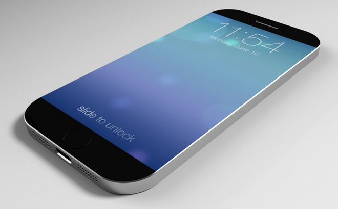 iPhone 6 va Galaxy S5 se khong co man hinh cong