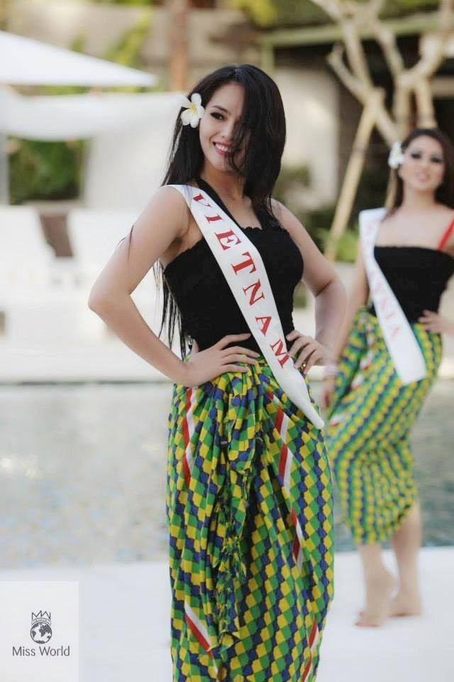 Lai Huong Thao miss world