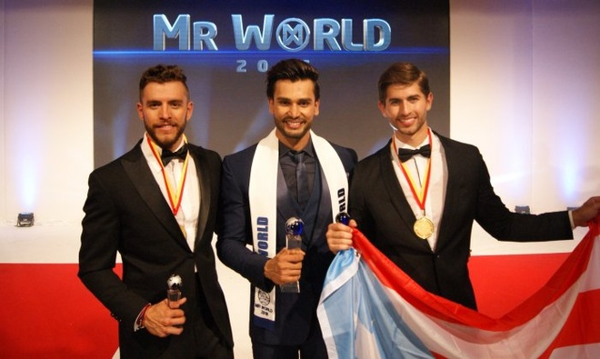 Dien vien An Do dang quang Mr. World 2016 hinh anh 1