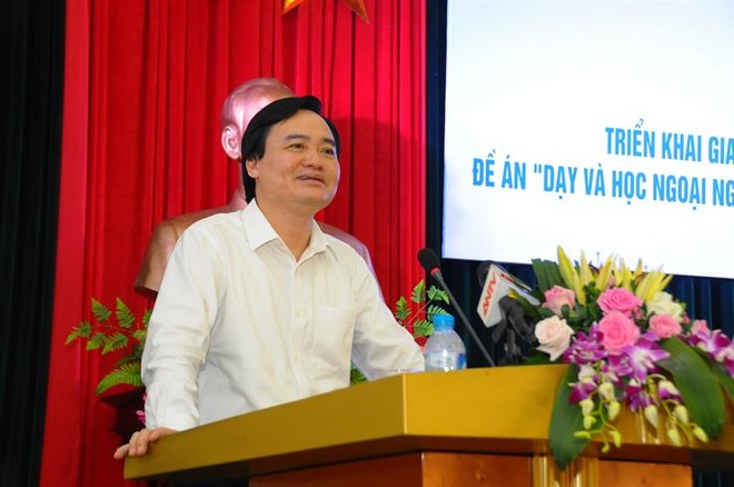 Bo Giao duc thi diem day tieng Nga, Trung Quoc tu lop 3 hinh anh 1