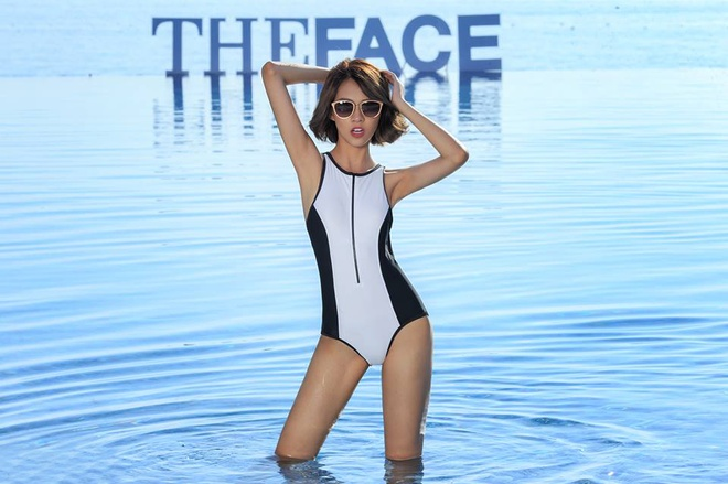 11 chien binh The Face khoe hinh the voi bodysuit hinh anh 9