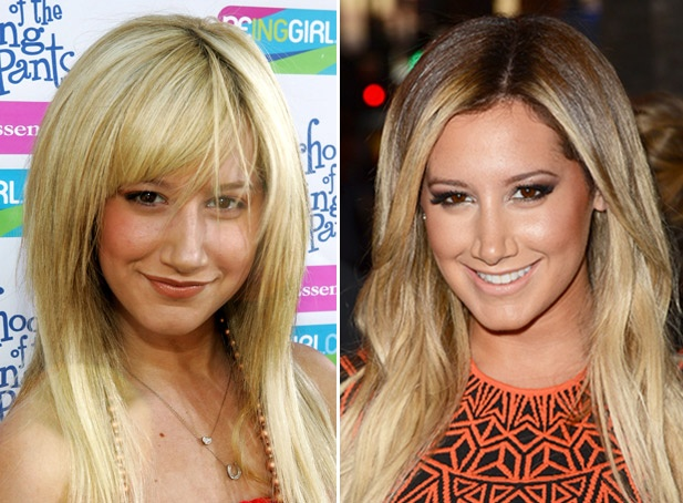 Ashley Tisdale in 2005.
