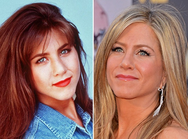 Jennifer Aniston in 1992